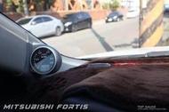 【精宇科技】Top Gauge 三菱 Lancer Fortis 專車專用 A柱錶座 渦輪錶 油壓錶 水溫錶