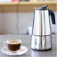 มาแรง!!! ขายดีหม้อ moka อิตาลี หม้อกาแฟทำมือ สแตนเลสที่ใช้ในครัวเรือนหม้อกาแฟ moka อิตาลี อุปกรณ์ชงกาแฟเครื่องชงกาแฟของคนรักกาแฟ