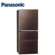 送7-11商品卡4600【可折現】【可刷卡】NR-C619NHGS國際Panasonic 610公升玻璃三門變頻冰箱