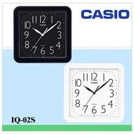Casio Clock Home Essential Big Digital Contrast Color Generous Streamline Square Wall Clock