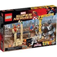 【宅媽科學玩具】樂高LEGO 76037 超級英雄Super Heroes系列  犀牛與睡魔的超級惡霸