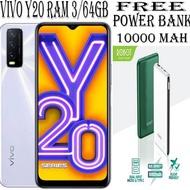 ✨BISA COD✨ Vivo Y20 3/64 GB & VIVO Y12 RAM 3GB ROM 32GB/64GB NEW Y12i 3/32 GARANSI RESMI VIVO