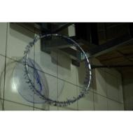 ⭐️一體 圓框⭐️ 鈦合金磯網框(現貨)  附高級網 海釣 磯釣 撈網