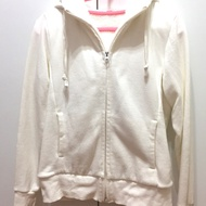 Uniqlo 熊寶寶毛外套 uniqlo刷毛外套 uniqlo外套 二手白色外套