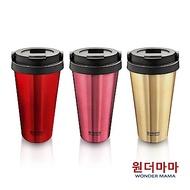 [結帳5折後1111][3入組]韓國WONDER MAMA不鏽鋼保溫杯組