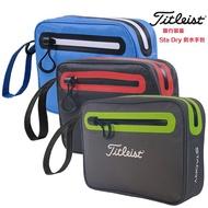 高爾夫小球袋Titleist TA6SDPCH 防水附件包 手提包 手抓包 晴天優品