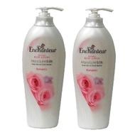 進口Enchanteur玫瑰系列身體香水乳液-400ml-紅玫瑰-二入組