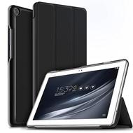 IVSO ASUS ZenPad 10 (Z301 / Z301MFL / Z301ML) ケース ASUS ZenPad 10 Z301 カバー スタンド機能付き 保護ケース 三つ折 マグネット開閉式 薄型 超軽量 全面保護型 エイスース ASUS ZenPad 10 (Z301 / Z301MFL / Z301ML) タブレット スマートケース ブラック