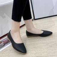 ANGELCITYS รองเท้ายางส้นสูง ยางนิ่ม คัชชูเจลลี่ (มี4สี สินค้าพร้อมส่ง)