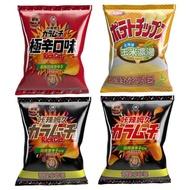 【湖池屋】洋芋片平切-北海道玉米濃湯口味-150g(派對分享包)