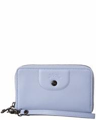 Longchamp Le Pliage Leather Compact Wallet