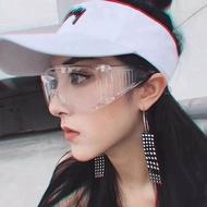 防護 防塵 防病毒 醫療級 透明防喷溅安全護目鏡 抗菌 防疫 成人 造型眼鏡