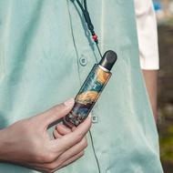 適用於relx悅刻5代幻影電子皮套保護套掛脖便攜收納藝術個性流行