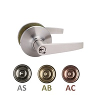 NELON ROOM DOOR LEVER LOCKSET 16411 SERIES (Antique Copper)