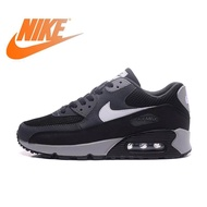 Ready Original NIKE_AIR_MAX_90_Essentials Men's Running Shoes Sport Sneakers Outdoor Breathable blackพร้อมกล่องรองเท้า