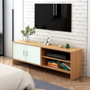 MYHOME DESIGN:TV RACK H5356ชั้นวางทีวี TV Rack 3.9ft (L:120cm) Wooden TV Cabinet / TV Console / TV Rack Sijian น้ำตาล(Brown)