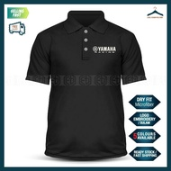 [HOT] Dry Fit Racing Yamaha Polo T Shirt Sulam TZM Y125Z LC135 Y15 RXZ MotoGP Team Casual Motorcycle Superbike SRL