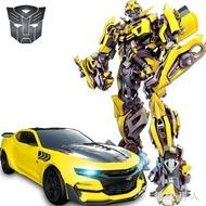 遙控玩具 變形金剛玩具兒童感應充遙控汽車男孩大黃蜂機器人TA1096