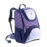 Deuter Smart Ergonomic Kids School Bag Backpacks - Plum Flora Print