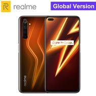 Realme 6 Pro 8GB RAM 128GB ROMสมาร์ทโฟนSnapdragon 720G 90Hzโทรศัพท์มือถือ30Wแฟลชชาร์จ4300MAhด้านข้างลายนิ้วมือ