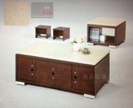 【尚品傢俱】629-51 彼柏爾 4.2尺石面大茶几(附2腳凳)~另有小茶几及4.6尺大茶几