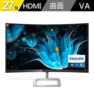 【免運】PHILIPS 飛利浦 278E9QHSB 27吋 曲面螢幕 LED螢幕 電腦螢幕 三年保 液晶螢幕 顯示器