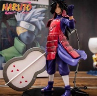 นารูโตะ โมเดล อุจิวะ มาดาระ ถือพัดลม Model นารูโตะตกแต่ง Naruto Figure ของขวัญวันเกิด 18cm