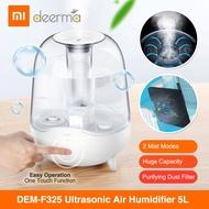 Xiaomi Deerma DEM-F325 5L Ultrasonic Air Humidifier/Quiet Aromatherapy/Transparent Water Tank Design [ETA : 11 Jan 2020]