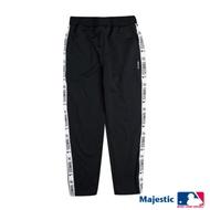 MLB-洋基織帶配色運動褲-白 (男)