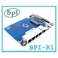 《德源科技》(含稅)最新款 BPI-R1香蕉派Banana PI R1 智能路由器4路千兆SATA接口