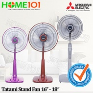 ***SUPER SALES!*** Mitsubishi Living Fan and Tatami Stand Fan from 16 inch to 18 inch