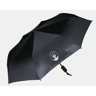 Maserati瑪莎拉蒂 全自動摺叠雨傘遮陽傘 Ghibli 總裁 Levante 瑪莎拉蒂專屬logo自動摺叠雨傘