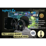 Logitech G PRO X Gaming Headset (2nd Gen) with Blue VO!CE DTS Headphone:X 7.1 and 50mm PRO-G drivers+1FREE HEADSET STAND