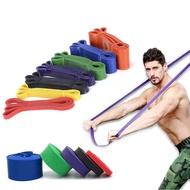 Gym สายต้านทานที่ผลิตจากยางยางยืดโยคะห่วงยืด Crossfit สายผ้าสำหรับฝึกฟิลาทีสฟิตเนส Expander ดึงความแข็งแรง Unisex อุปกรณ์ออกกำลังกาย