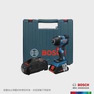 【BOSCH 博世】18V超核芯鋰電免碳刷衝擊起子機 GDR 18V-200 C 4.0Ah 套裝
