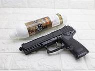 2館 iGUN MK23 手槍 瓦斯槍 + 12kg威猛瓦斯(BB槍BB彈空氣槍玩具槍CO2槍長槍短槍滅音管消音