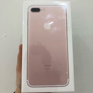 Iphone 7+plus 128g 全新未拆封 一年保固