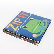 拉鏈書ZIP IT兒童英語繪本英文原版正版圖書籍