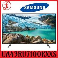 Samsung TV UA43RU7100KXXS 43 IN 50RU7100 50 IN  55RU7100 55 IN 4K ULTRA HD 4K Smart TV 4 Ticks