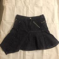 1/2童裝 女童 牛仔裙 135cm 二分之一童裝