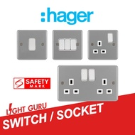 Hager Switch / Socket for Commercial use / Industrial Theme