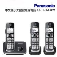 Panasonic 國際牌DECT 中文數位無線電話KX-TGE613TW