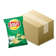 【Frito-Lay】《Lay's》洋芋片-奶焗香蔥口味(184.2g/包)一箱12包【宅配免運】