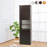 【BODEN】防潮防蛀 防水塑鋼1.5尺二門中開放高鞋櫃(五色可選)