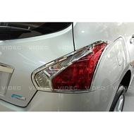 巨城汽車精品 裕隆 NISSAN BIG TIIDA 鍍鉻 尾燈框 材質 ABS電鍍