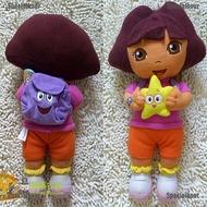 Specialhour DORA THE EXPLORER兒童女孩柔軟可愛的毛絨填充玩具娃娃新