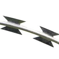 304不銹鋼鍍鋅刀片刺繩船舶圍牆防爬防盜網倒刺圍欄網牆刺帶刺網 生活樂事館NMS