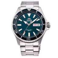 ORIENT 東方錶怒海潛將藍寶石鏡面 機械錶(RA-AA0002L)藍綠水鬼/42mm