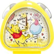 X射線【C090792】小熊維尼Winnie the Pooh 鬧鐘,時鐘/掛鐘/壁鐘/座鐘/鬧鐘/鐘錶/手錶/潛水錶/迪士尼鬧鐘/卡通鬧鐘