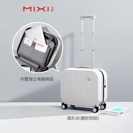 Mixi กระเป๋าเดินทางขนาดเล็กหญิง18-นิ้ว2020ใหม่มินิขนาดเล็กน้ำหนักเบา16รหัสผ่านขึ้นเครื่องรถเข็นกระเป๋าเดินทางชาย